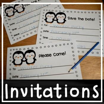 Winter Invitations (Blank)
