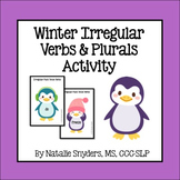 Winter Irregular Past Tense Verbs and Plurals Activity