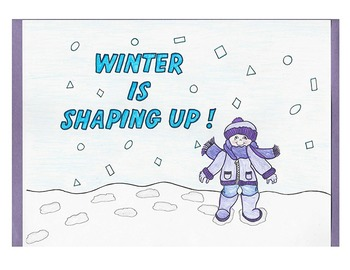Winter Is Shaping Up Book  By Linda Todd and Becky Dziuk