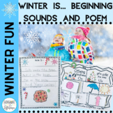Phonics Winter Is Sound and Picture Sort Aligned with Comm