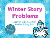 Winter / January Story Problems