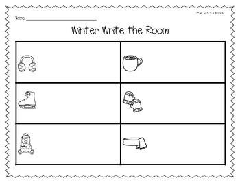 Winter/January Write the Room