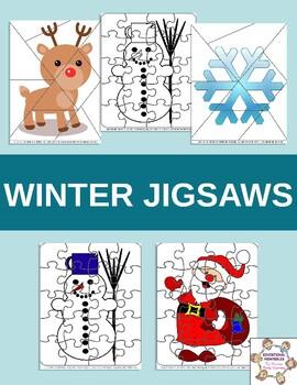 Winter Jigsaws - Easy