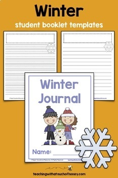 Writing Prompts For Winter: 25 Cut-And-Paste Writing Prompts