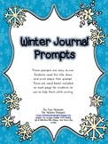Winter Journal Prompt Pack