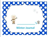 Winter Journal With Writing Prompts Common Core Aligned