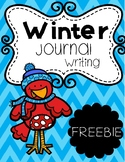 Winter Journal Writing