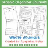 Winter Journals with Graphic Organizer Supports