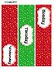 Winter Joy 1  -- 3-drawer Organizer Box Labels