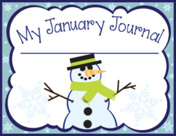 Winter K-2 Writing Journals ***BOOSTER SET***