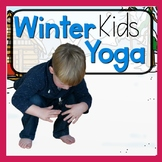 Winter KIDS Yoga Cards and Printables