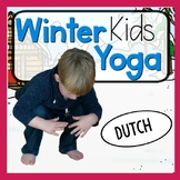 Winter KIDS Yoga Cards and Printables - DUTCH