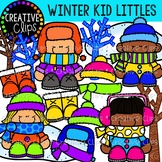 Winter Kid Littles: Winter Clipart {Creative Clips Clipart}