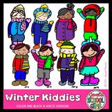 Winter Kids Clip Art