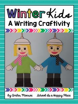 Winter Kids {A Writing Craftivity}