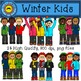 Winter Kids Clip Art