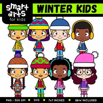 winter kids clip art by smart arts for kids teachers pay teachers rh teacherspayteachers com making clipart for teachers pay teachers how to make clipart for teachers pay teachers