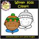 Winter Kids - Clip Art (School Designhcf)