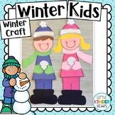 Winter Kids Craft :January Crafts