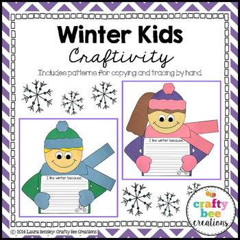 Winter Kids Craftivity