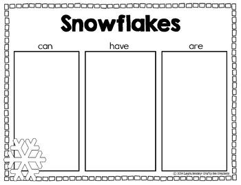 Winter Craft {Winter Kids Writing Prompts}