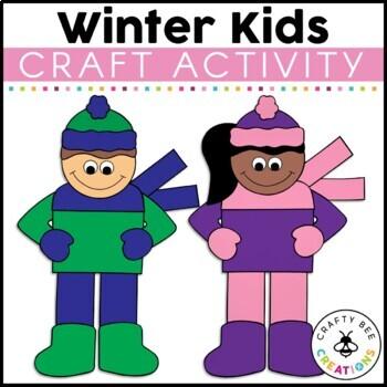 Winter Craft {Winter Kids}