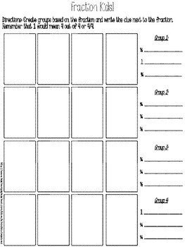 Winter Kids Fraction Practice Half Fourths Add Subtract Multiply Divide