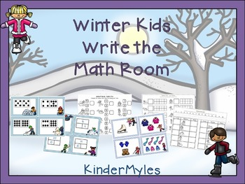 Winter Kids Math Bundle