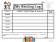 Winter Kids Reading Logs: Daily & Monthly Recording Sheets ELA Seasonal Theme
