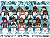 Winter Kids Spinners
