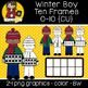 Winter Kids Ten Frames Bundle  {Graphics for CU}