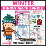 Winter Kinder Math Bundle