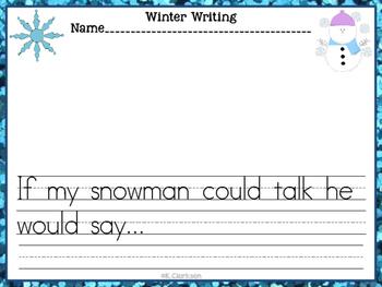Winter Kindergarten Activities Pack