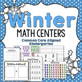 Winter Kindergarten Math Centers