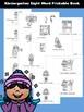 Winter Kindergarten Sight Word Book
