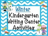 Winter Kindergarten Writing Activities
