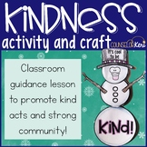 Winter Kindness Activity for Classroom Guidance Lesson or