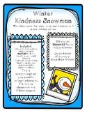 Winter Kindness Snowman