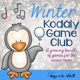Winter Kodály Game Club!