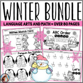 Winter Worksheets Bundle (Math and Language Arts)