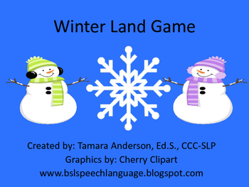 Winter Land: English/Language Arts Activities