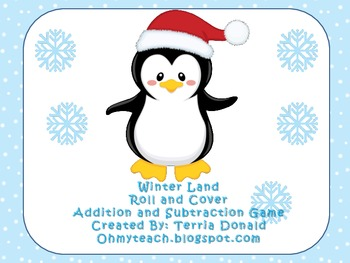 Winter Land Roll and Cover