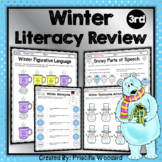 Winter Language 3rd Grade: Synonyms, Antonyms, Figurative Language and More