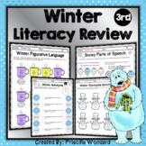 Winter Language 3rd Grade: Synonyms, Antonyms, Figurative Language