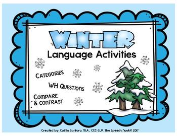 Winter Language Activities