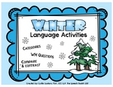 Winter Language Activities