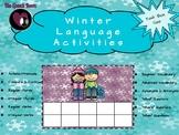 Winter Language Activities (Task Box Size)