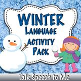Winter Preschool Language Pack