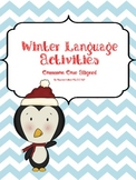 Winter Language Activity Packet: Common Core Aligned