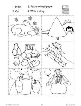 Winter Language Arts Activities
